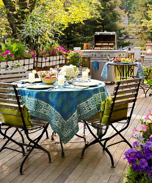 Create a Staging Area for easy staycation escape upgrades