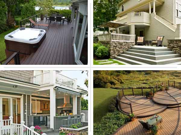 Ideas For Deck Designs stone deck with metal raili Garden Design Garden Design With Patio Design Ideas And Deck Ideas For Deck Design