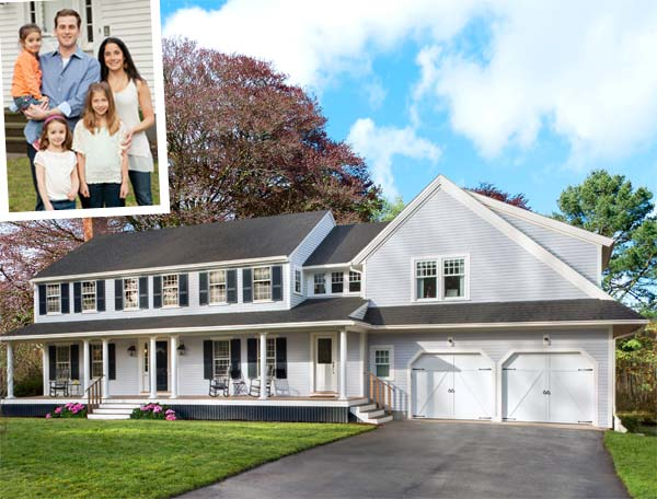 Curb appeal true to colonial style after the lexington for True style homes