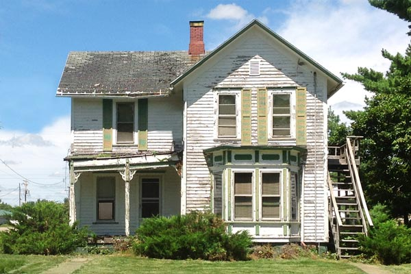 The story save this old house illinois folk victorian for This old housse
