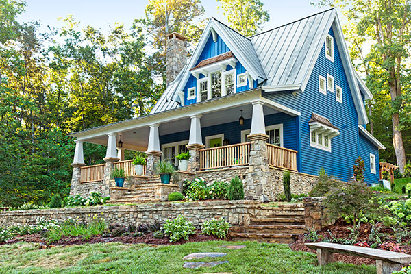 craftsman-style cottage at Cloudland Station