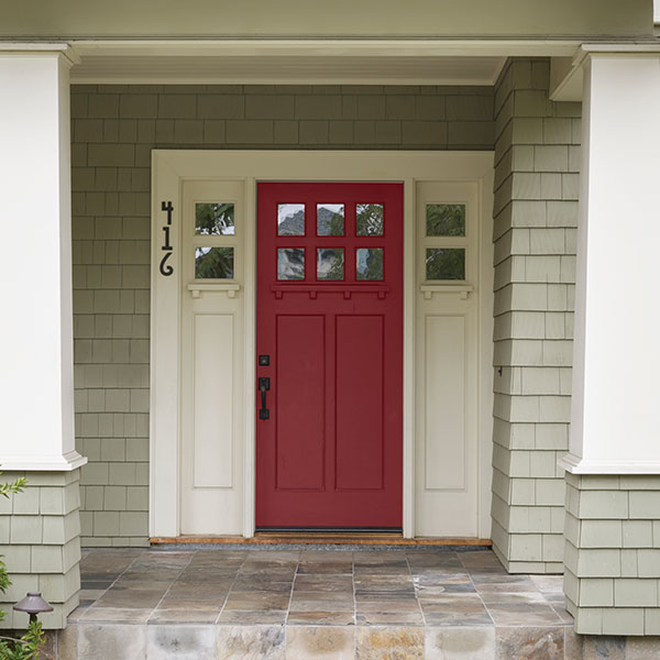 Crimson front door color of the month november 2015 for Front window styles