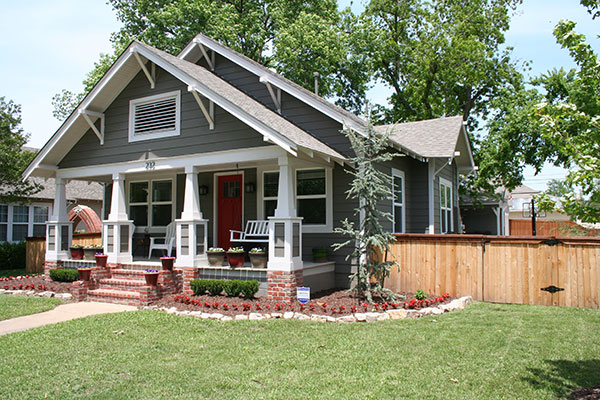 punching up the craftsman charm after best curb appeal