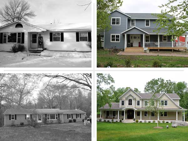 Not just a ranch anymore best ranch house before and for Remodeling old homes