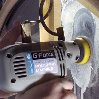 Gforce glass-polishing gun