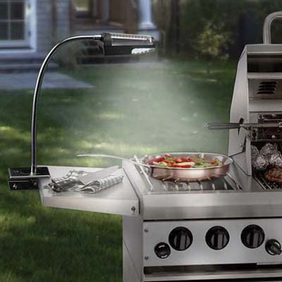 Maverick's Solar-Powered Grill Light