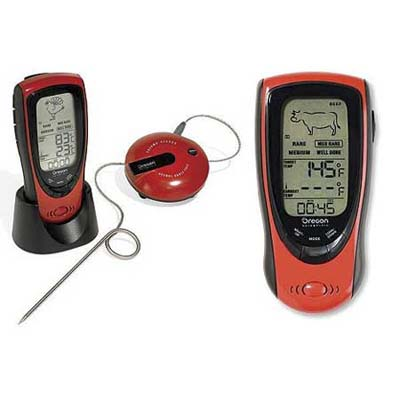 Talking Food Thermometer w/ Remote Handset