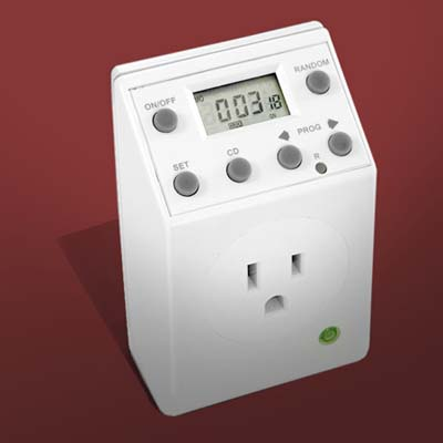 programmable receptacle timer
