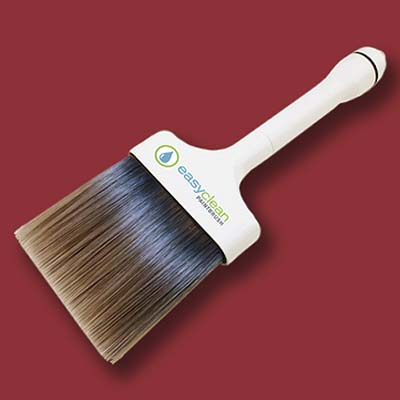 self-cleaning paintbrush