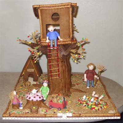 this old gingerbread house winner forever autumn