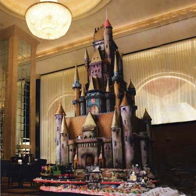 sugar castle inspired by european architecture