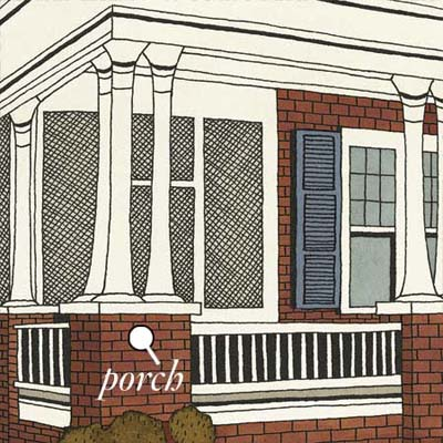 porches help shelter direct sunlight and invite cool breezes