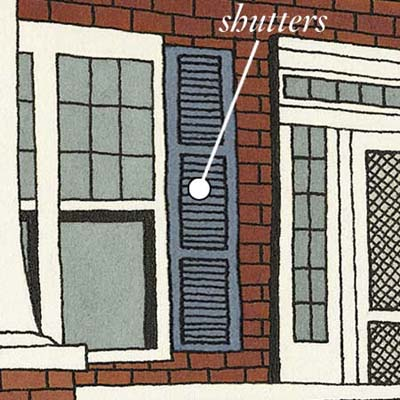 shutters can provide shade and insulation while increasing airflow