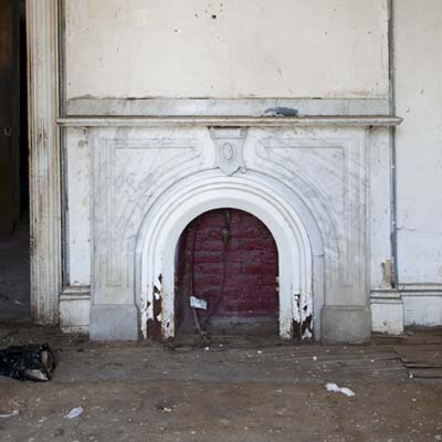Roxbury, MA fireplace mantel to be restored