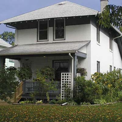 Prairie style house in Morgan Park, Duluth, Minnesota
