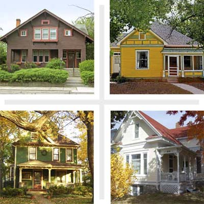 Best Places to Buy an Old House 2009 Retirees