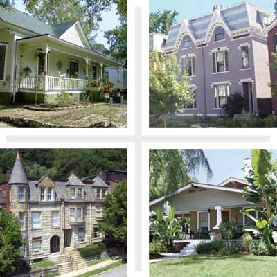 Best Places to Buy an Old House 2009 The South