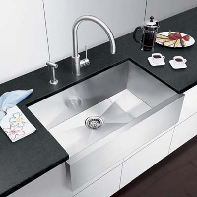 unscratchable sink made of granite