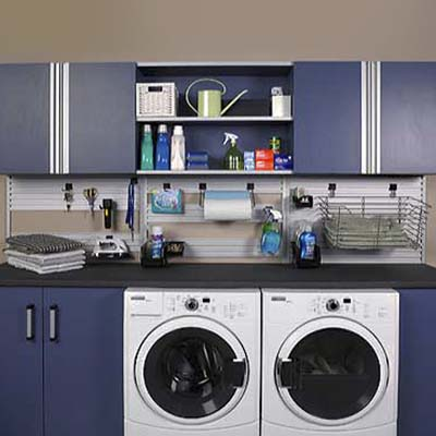 laundry room organization system