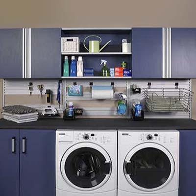 laundry room organization system