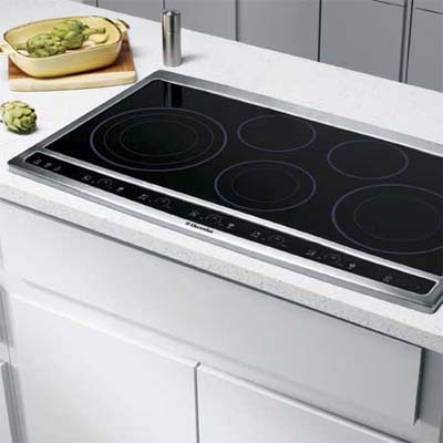 electrolux electric cooktop with adjustable heating elements
