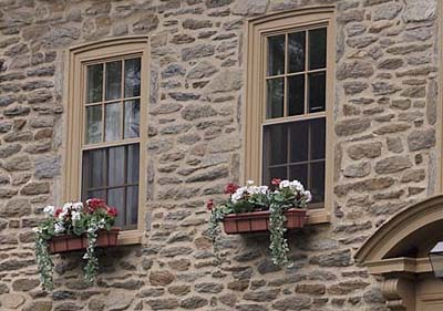 historic windows with seasonal options