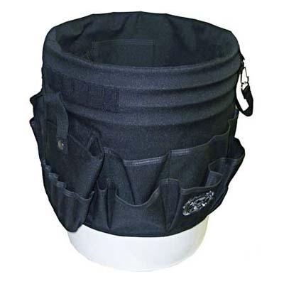 dead on tools, snake pit 45-pocket bucket tool organizer
