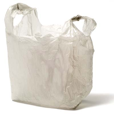 a plastic bag