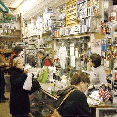 William A. Kilian Hardware in philadelphia is a one-stop hardware store