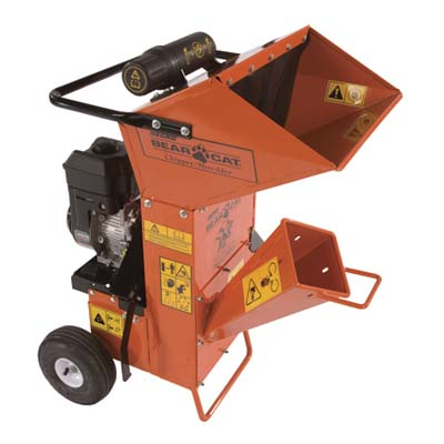 bear cat residential wood chipper/shredder SC2206