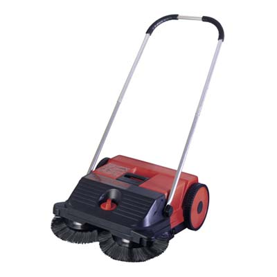 an outdoor sweeping machine by haaga great lakes topsweep 255