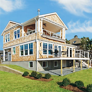 The Barrington, Rhode Island Beach House