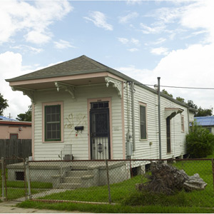 New Orleans Rebuilds house project