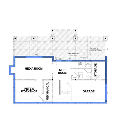 Floor Plans  amp  House Elevations   The Weston House   This Old House    weston ground floor