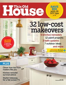 Winners in July 2011 issue of This Old House