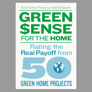 cover image of green sense for the home