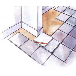 Tiling in Corners