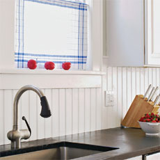 installing a solid-surface backsplash