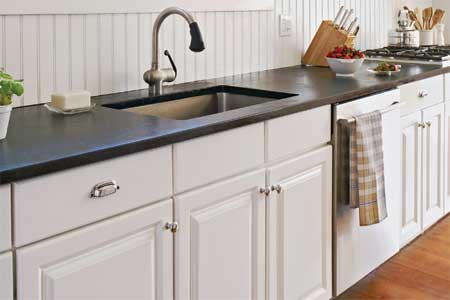 Kitchen Counter Tops on How To Install A Soapstone Countertop   This Old House