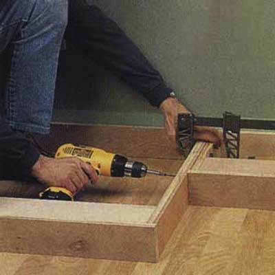how to build entertainment center