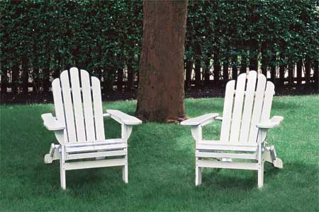 diy build adirondack chair