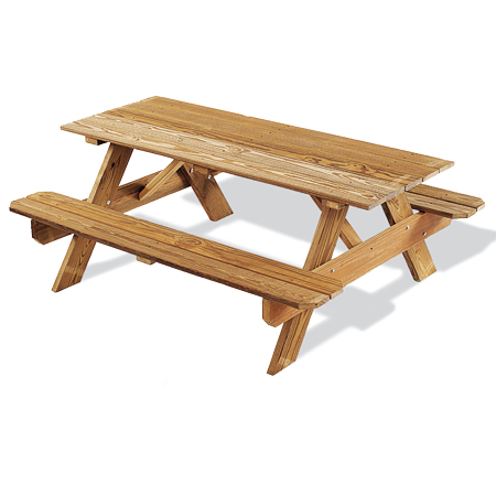 basic picnic table
