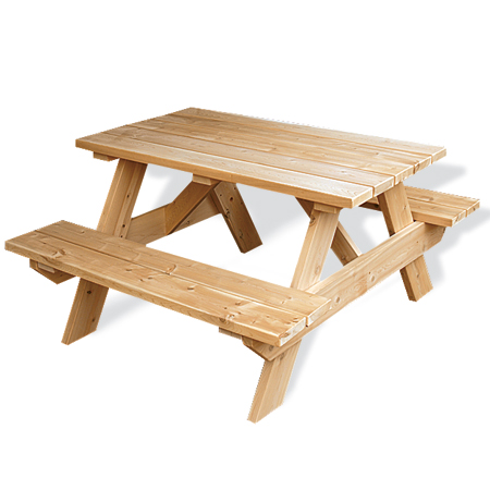 mid-range picnic table