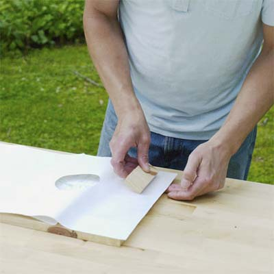 this old house editor mark powers covering the tray deck with contact paper