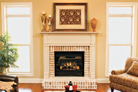 wood mantel plans