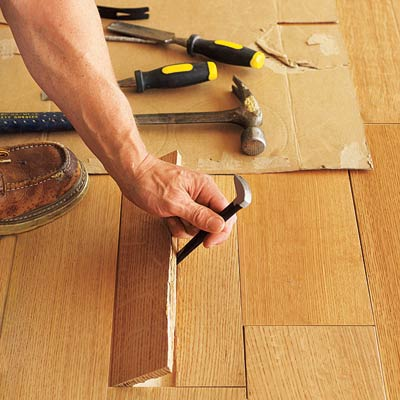 Measure The Flooring S Thickness How To Install A Floor