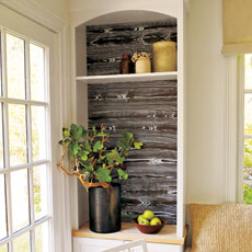 Faux Wood Grain, Fast and Easy