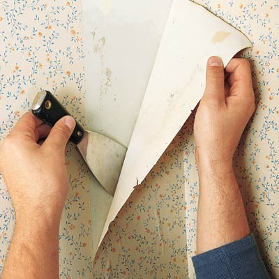 Peel Back The Wallpaper How To Strip Wallpaper This