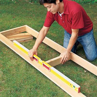 Pick a Location to make a planter bench