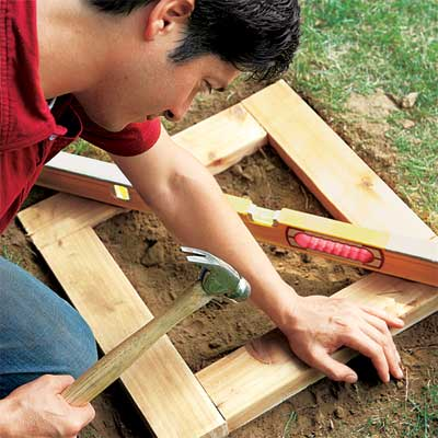 Establish the Base to make a planter bench